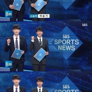 イ・スンギ、1日アナウンサーに挑戦!SBS「8ニュース」に突然登場で話題に