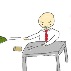 会社でムカつく人にキレた時と、我慢した時の結果の違い