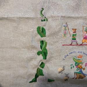 かわいい刺しゅう27号~ジャックと豆の木①