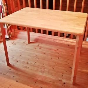 座卓をテーブルに改造する