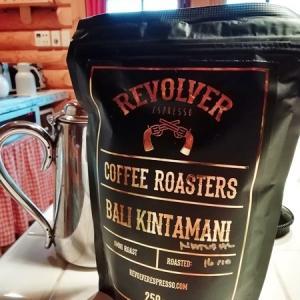 バリ島キンタマーニのリボルバーエスプレッソの珈琲豆
