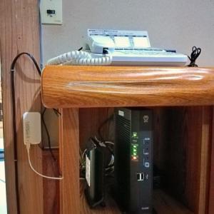 光回線の導入とWiFiルーターの設置