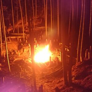 火を存分に活用しよう、原始人のように