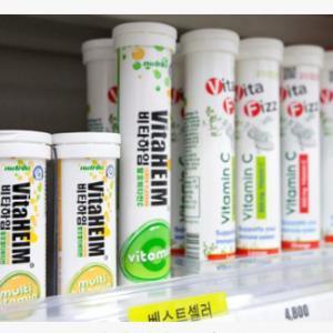 発泡ビタミンって2012年にはあったのね。[ソウル] KONESTから知る韓国