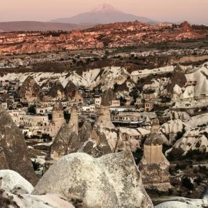 10)トルコ旅行5日目 夕焼けのカッパドキアと洞窟ホテル smc PENTAX-FA 77mm F1.8 Limited