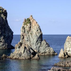 青海島をsmc PENTAX-FA 77mm F1.8 Limitedで撮ると、こんな感じです