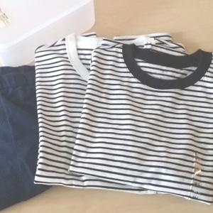 無印良品のボーダー服の追加購入