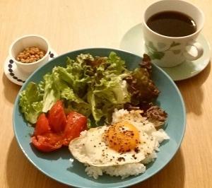 朝、定番御飯と御飯ブログと韓国ドラマ