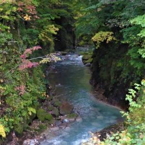 北海道の旅(93) カルルス温泉    支笏洞爺国立公園