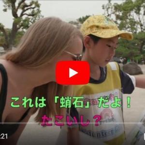 【DWE】英語で大阪城のボランティアガイドをする兄弟のテレビを見て。