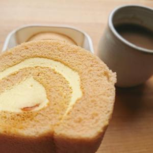 【オランジェ】クレームブリュレのロールケーキ食べてみました【レポ】