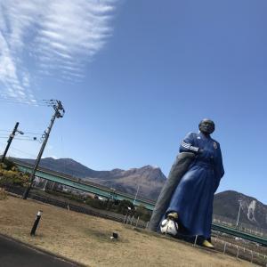 2月12日 竜馬が島原でサッカー城足湯ランニング相場