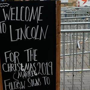 Lincolnのクリスマスマーケット