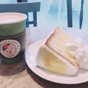 おいしい通信:ホノルルコーヒー レモンのシフォンケーキ