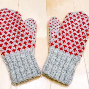 冬支度~フィンランドのおばあちゃんが編んだ手ぶくろ~