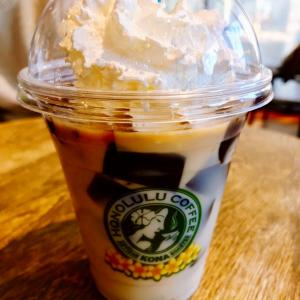 おいしい通信:ホノルルコーヒーのココナッツミルクコーヒーゼリーとパンケーキ