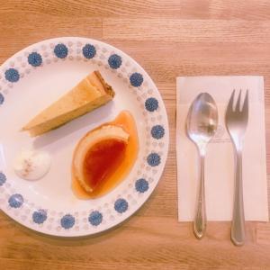 おいしいもの通信:プリンとかぼちゃのチーズケーキと北欧食器