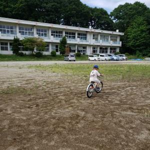 自転車くんの旅立ち