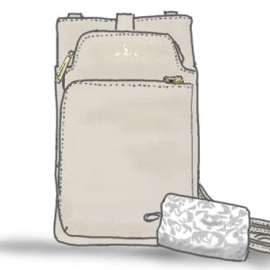 スマホや長財布がコンパクトに持てる、ペレボルサのスリムポシェット登場 2021年8月26日のTSV