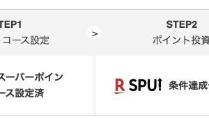 【SPU】楽天証券ポイント投資を設定して楽天ポイント倍率を上げる方法【ポイントせどり】