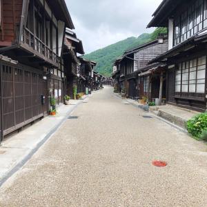 長野県の観光スポット『奈良井宿』