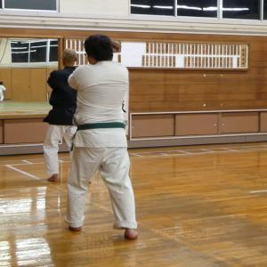 喜多方武道館での稽古