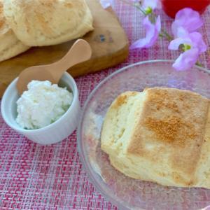 チーズで朝食シリーズ③♥さっくりしっとりチーズスコーン