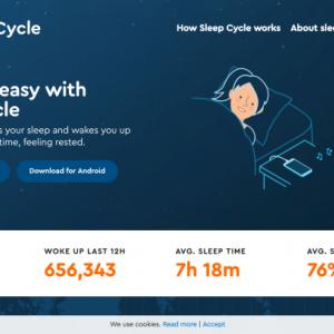 驚くほど快適な目覚めのSleep Cycleと、ただの体重計だったFiNC