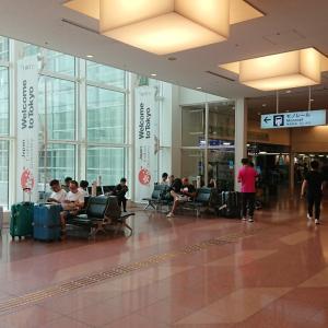 羽田空港国際線ターミナルで野宿。お勧めの場所は?場所取りに勝つためには?
