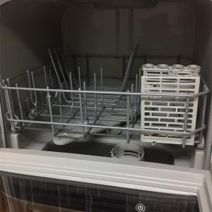 賃貸なので工事不要の食洗機を導入。冬の手荒れがましになった!