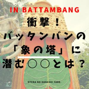 衝撃!バッタンバンの「象の塔」に潜む〇〇とは?