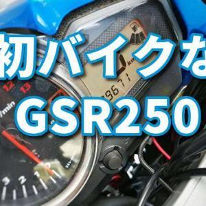 いいバイクです、初バイクなGSR250との2年間を振り返る