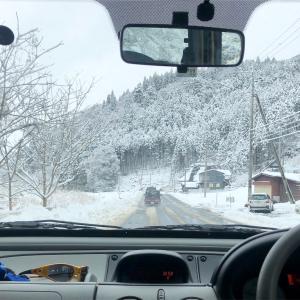 朽木村に雪遊びに行ってきた