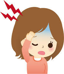 偏頭痛の季節到来!