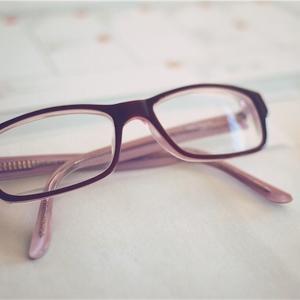 メガネ作りました