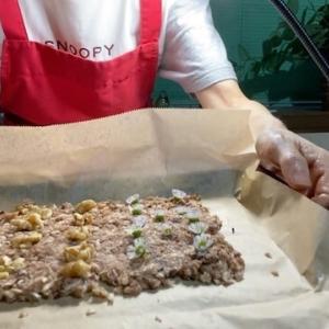 パン粉でココアクッキー!身近なエディブルフラワーと胡桃入り簡単レシピ