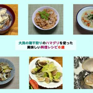大洗潮干狩りでとれたハマグリを使った美味しい料理レシピ6選