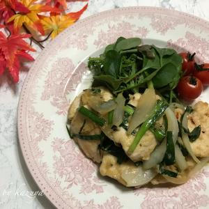 鶏むね肉でスタミナ生姜焼き YouTube公開