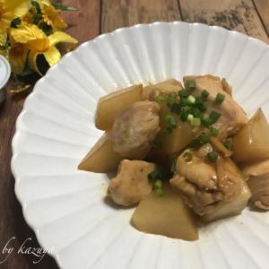 鶏胸肉と大根の照り煮|アスコットタイの行方