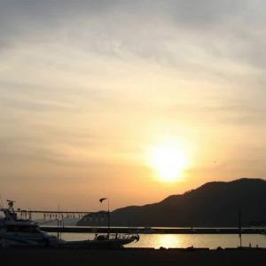 小浜の夕日 2009/05/10
