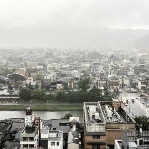 雨の朝  #402
