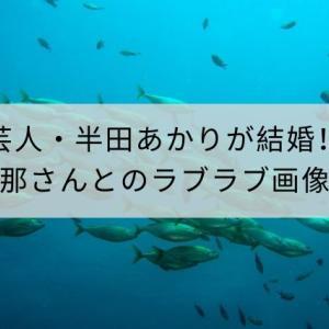 芸人・半田あかりが結婚!旦那さんはカンパチ似?ラブラブ画像公開!