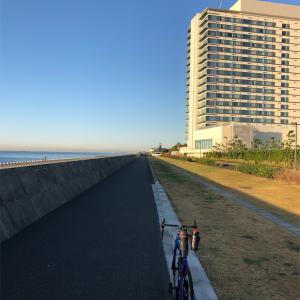 本日のライド 江戸川R357経由江戸川サイクリングロード右岸(宝珠花橋までの往復)