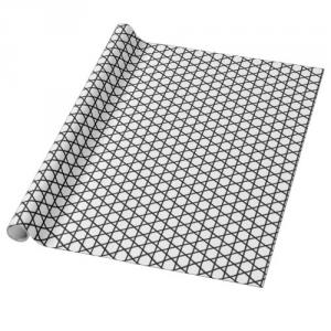 Kagome black line pattern japan traditional style wrapping paper
