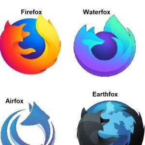 ファイヤーフォックスのロゴデザインの未来。