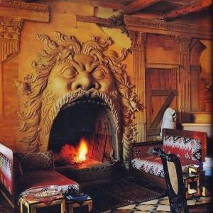 16世紀に作られたイタリアの暖炉