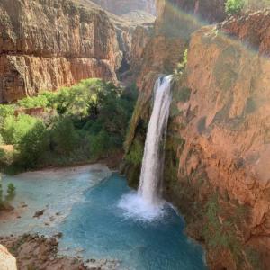 アリゾナ州にあるハヴァス滝