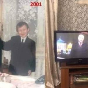 プーチンの任期がメチャクチャ長いことにビックリ。