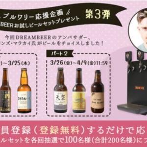 エバンズ・マラカイがセレクト「お試しビールセット」プレゼント 第3弾!