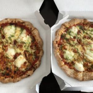 ガストのマルゲリータピザお持ち帰り・60歳以上対象5%割引プラチナパスポート